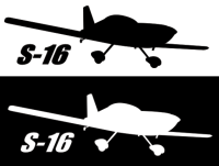 RANS S-16 Sticker