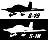 RANS S-19 Sticker