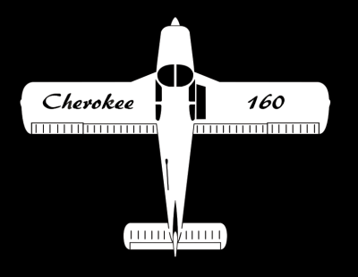 Piper Cherokee Sticker
