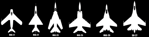 Russian Aircraft Stickers